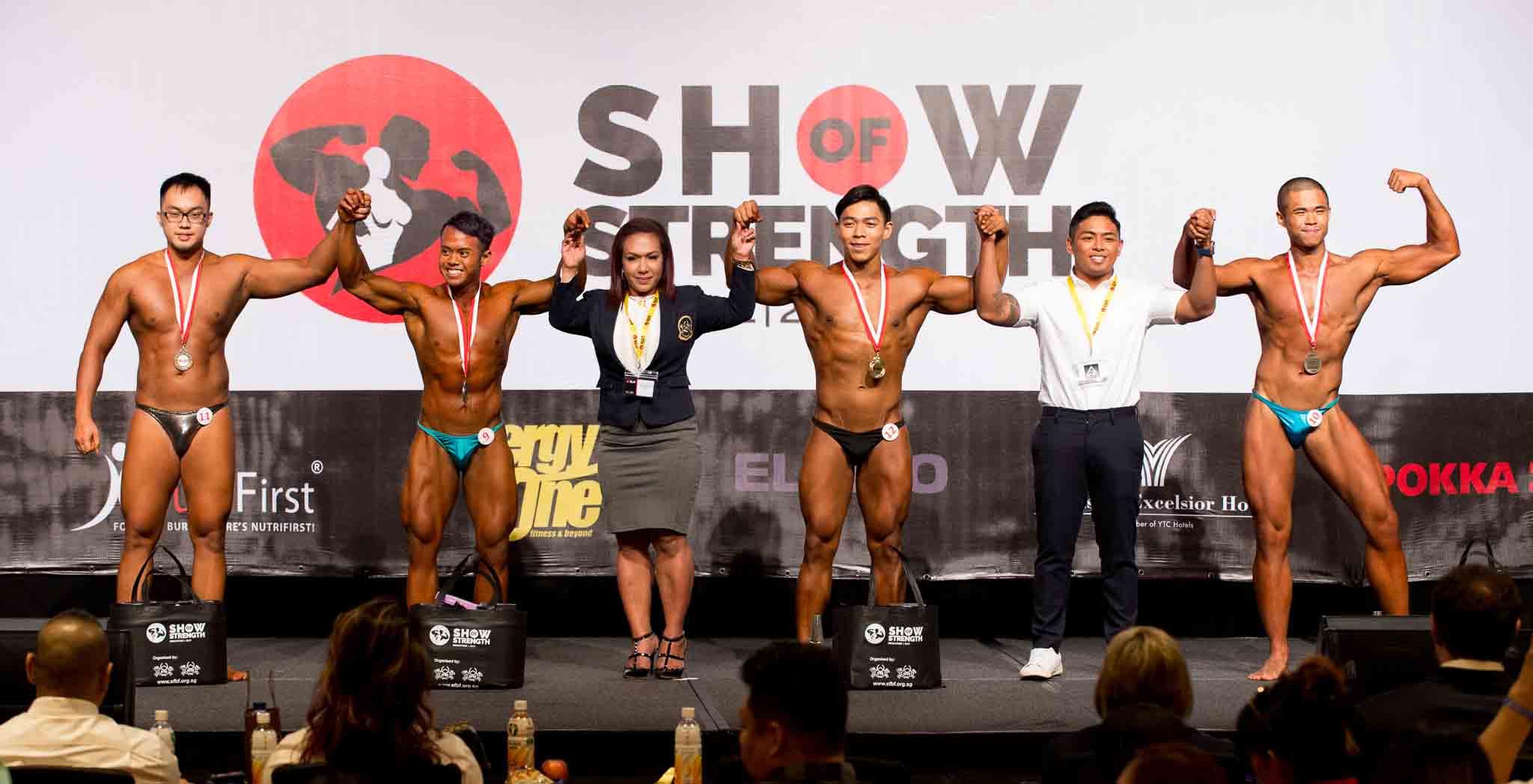 Men's Bodybuilding Juniors (16 – 23 years old)
