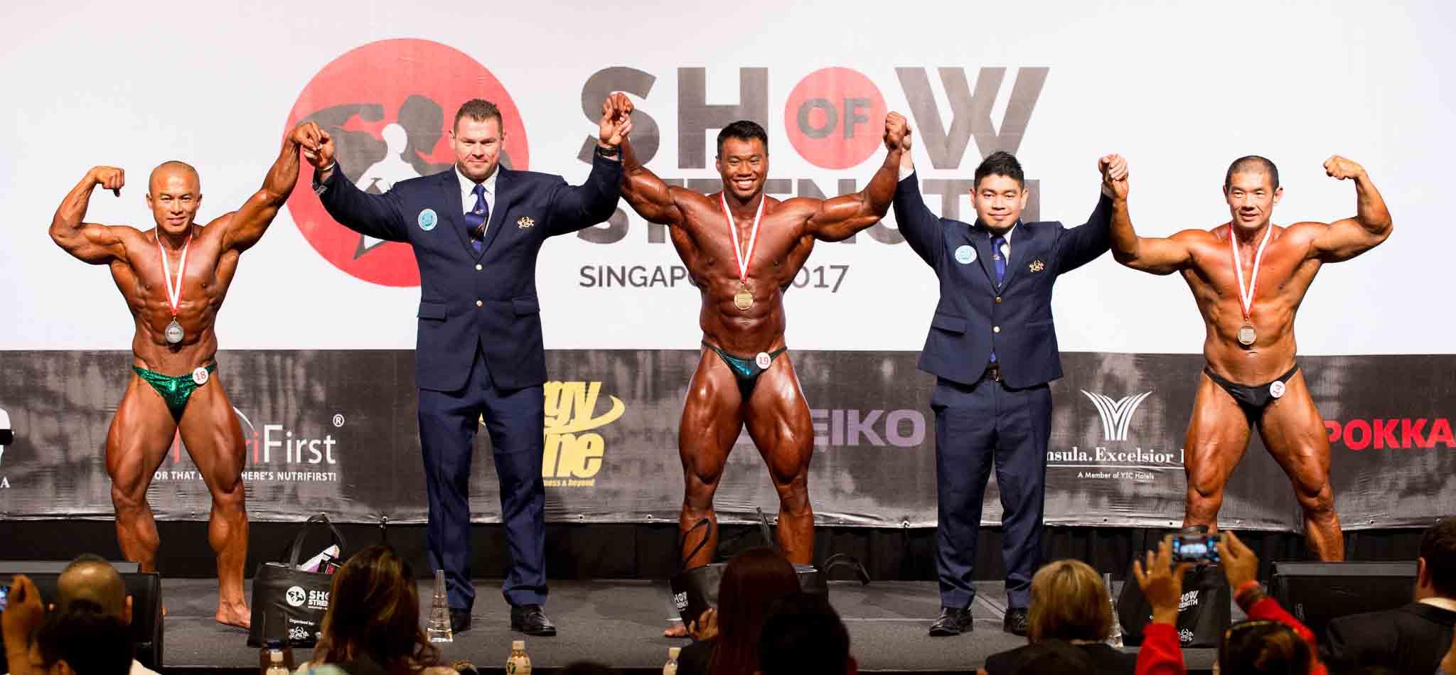Men's Bodybuilding (over 85kg)