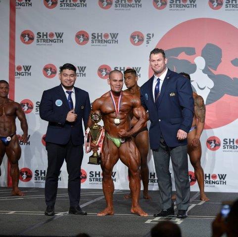 Overall Winner Men's Bodybuilding - (#50) Pha Se (Vietnam) - at the Show of Strength 2018