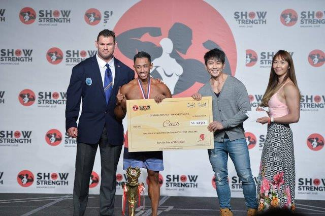 Overall Winner Men's Physique - (#73) Mohd Fahrul Sobri Abd Rahman (Malaysia) - at the Show of Strength 2018-1