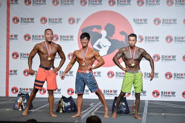 Winners of Men's Physique Masters (Over 40 Years Old) at the Show of Strength 2018-1