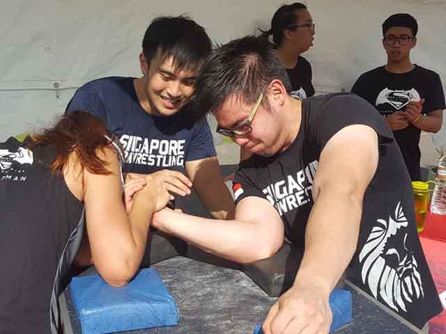 Singapore Armwrestling 8